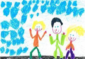 """Zīmējumu konkurss """"Mana ģimene sporto"""""""